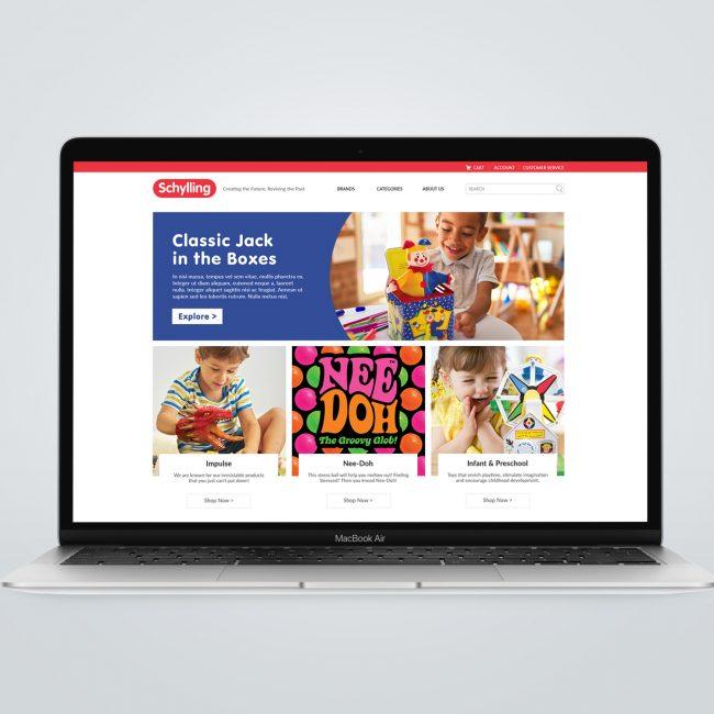 Schylling Website Design